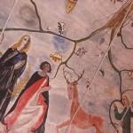 fresque de l'église de Rochehaut