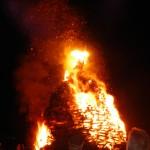 Grand feu à Alle-sur-Semois