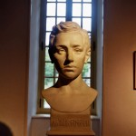 Buste de Rimbaud au musée de Charleville-Mézières